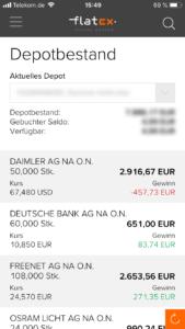 Flatex Aktiendepot App